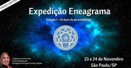 Workshop Presencial Expedição Eneagrama - ESTAÇÃO I - OS TIPOS DE PERSONALIDADE